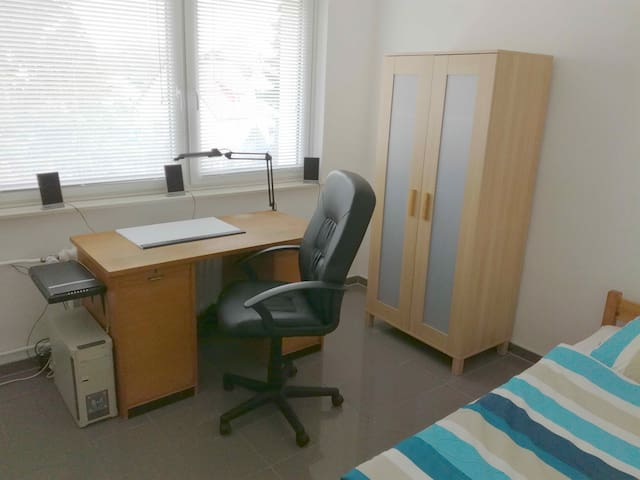 Hannover-Messe nah,freundliches helles Zimmer - Celle - Appartement