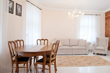 Bright and cozy apartment in Haapsalu old town. - Wohnung