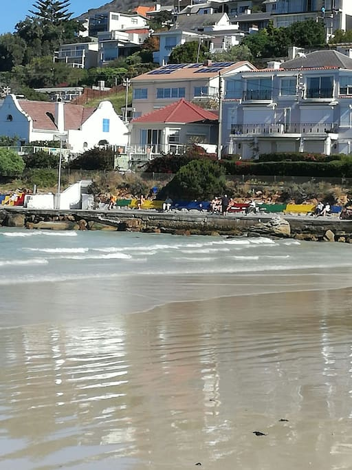 Fish Hoek Beachfront House Cottages For Rent In Cape