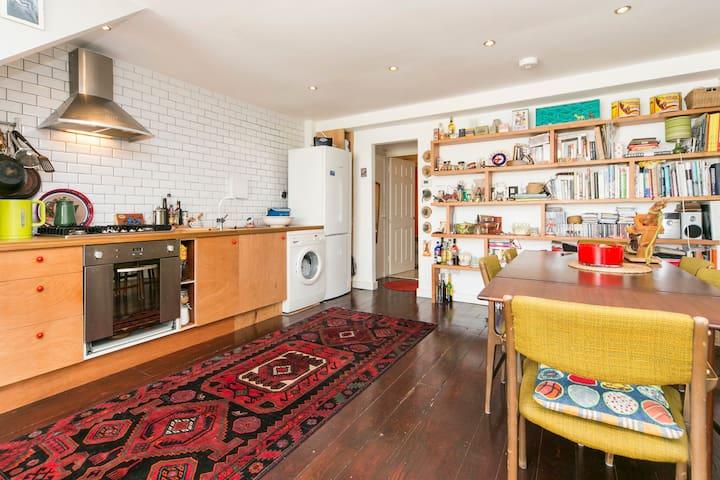double garden bedroom with ensuite - Londres - Bed & Breakfast