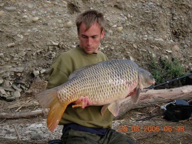 River Ebro fishing apartment in Mequinenza