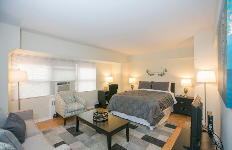 STUNNING CAPITOL HILL Apt Steps from Union Station