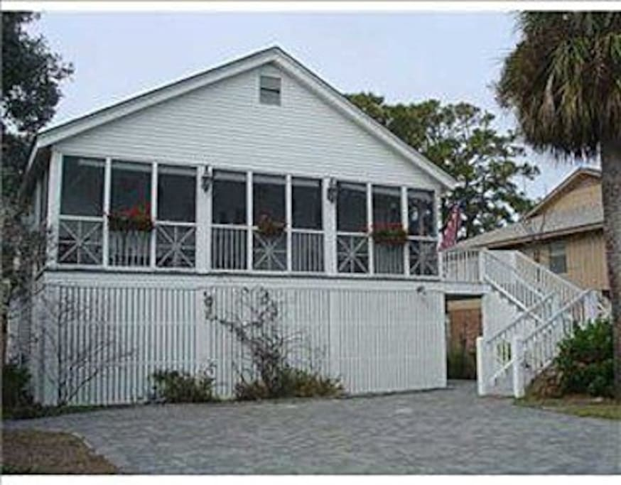 The only house on Tybee Island  mentioned in Midnight in the Garden of Good and Evil, the former Judge Oliver's House!