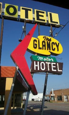 The Glancy On Route 66 - Clinton - Guesthouse