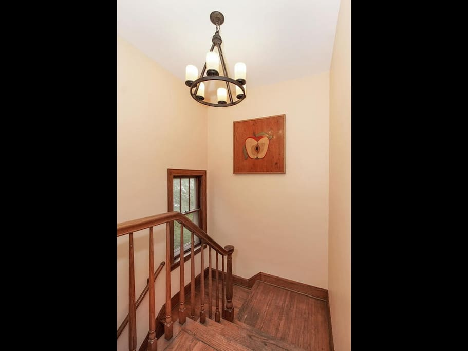 Front entryway walk up