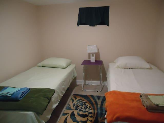 Bedroom #2 - 2 Comfy Twin Beds