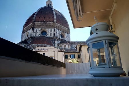 Breathtaking view of the Dome from the balcony! - Firenze - Condominium