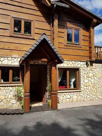 Apartment's private entrance