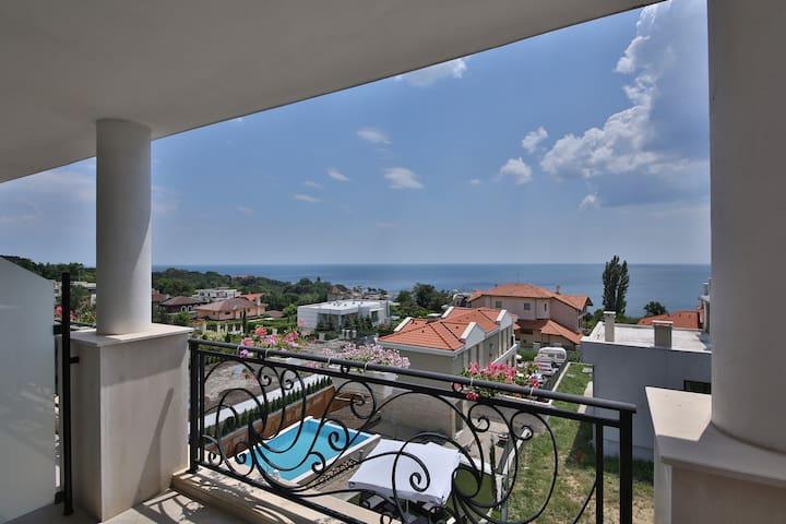 Villa Sophia Comfort Double Room with Sea View - Varna - Villa