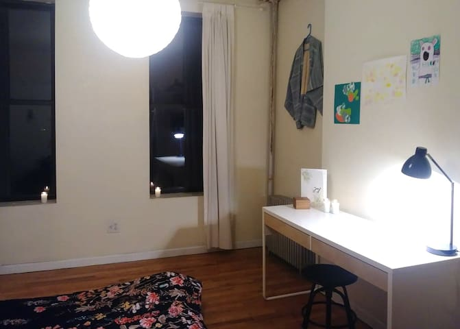 Bright, Large Room in the Heart of Bushwick