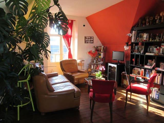 Grand appartement sur la rade de Lorient - Locmiquélic