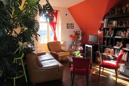 Grand appartement sur la rade de Lorient - Locmiquélic - ゲストハウス
