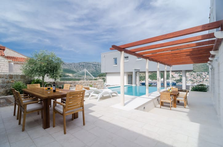Villa Diana with Private Pool: Penthouse