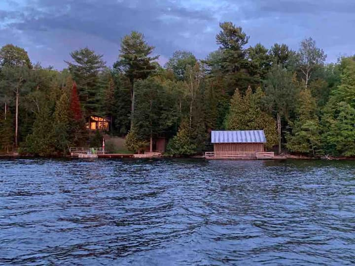 Madawaska Valley Lodge sleeps 24 comfortably