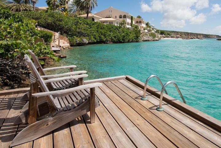 Curacao Ocean Resort direct aan zee  eigen steiger