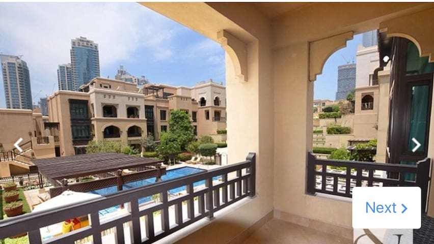 LUXURY APARTMENT WITH POOL AND BURJ KHALIFA VIEW
