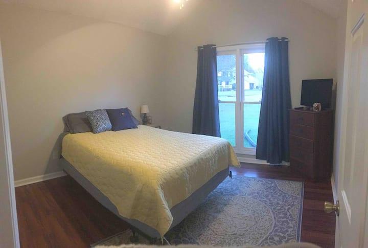 Cozy bedroom #1 in Ladson home