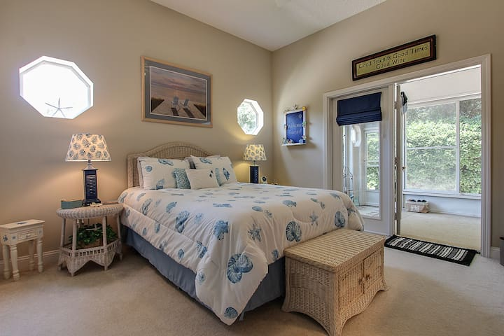 Amelia Island Beachy Comfy Getaway-Late check out! - Fernandina Beach - House