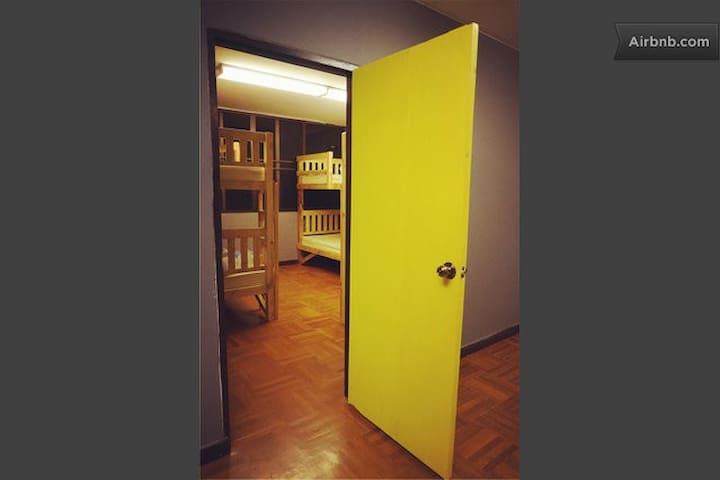 iDeer Hostel - 6 Bed Mixed Dorm