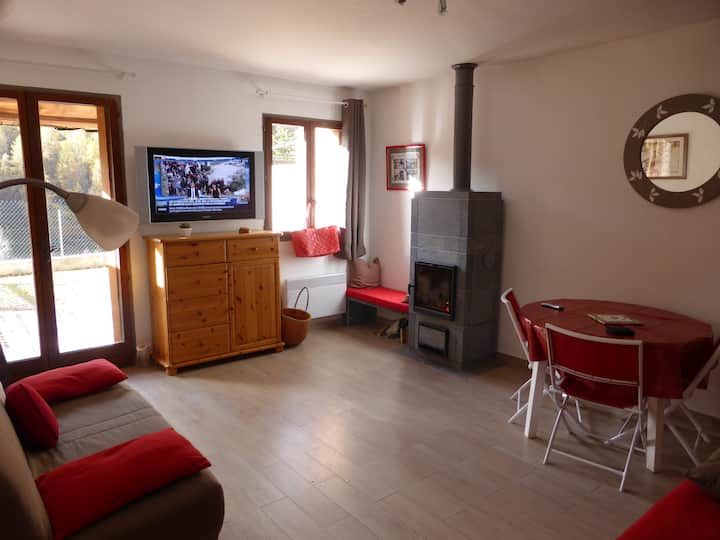 Location ski Auron Alpes du Sud 6 couchages