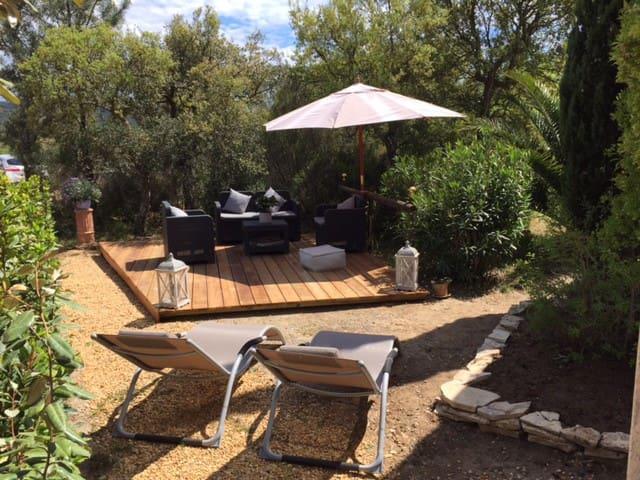 Studio logement Golfe St Tropez - Cogolin - Leilighet