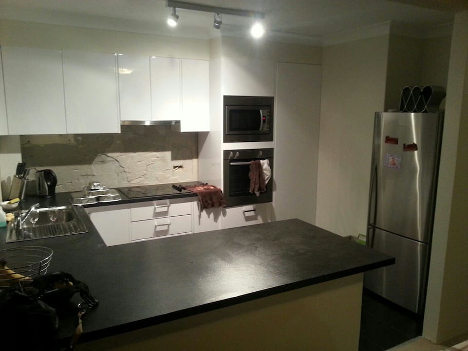 Brand new kitchen with all modern appliances