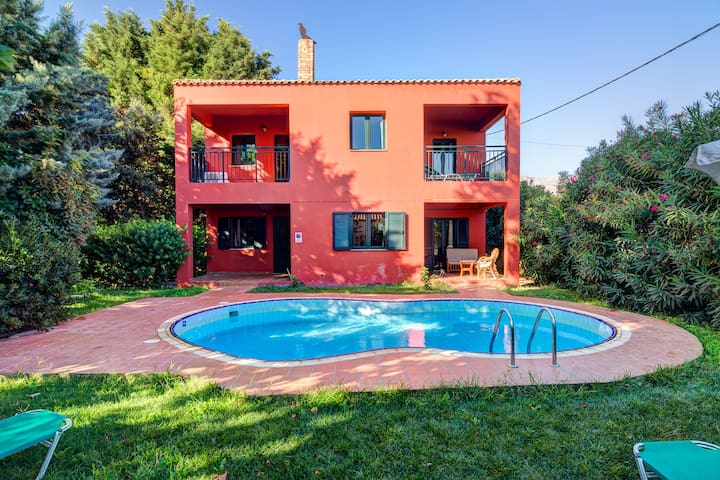 Peaceful two storey villa with pool