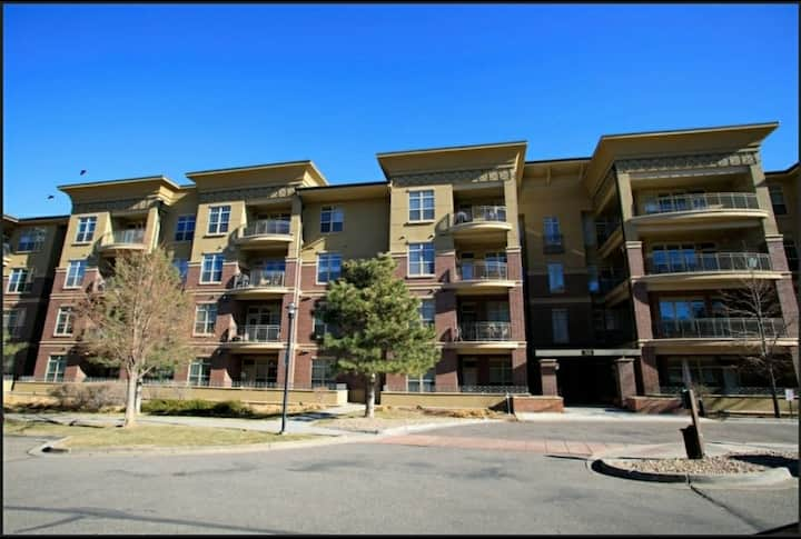 Gorgeous 2 bed,2bath Light Rail Condo In DTC