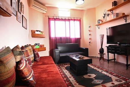 Уютная квартира на берегу моря. - Bat Yam - Daire