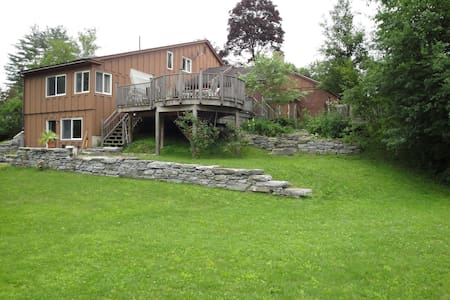 Great home and very private. - Williamstown - Casa