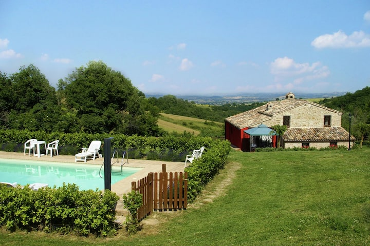 Charming holiday home from the 16th century with pool and large garden in the beautiful nature