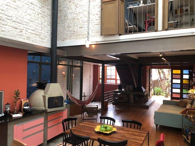 Zen loft: cool room in a charming village <3 of SP