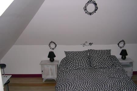 CHEZ PIMLINE Chambre Tancarville - Saint-Aubin-sur-Quillebeuf