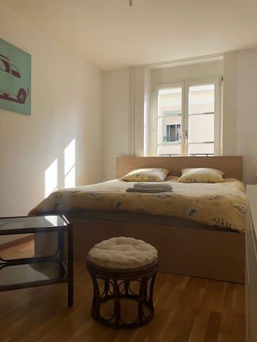 Chambre cosy dans quartier authentique