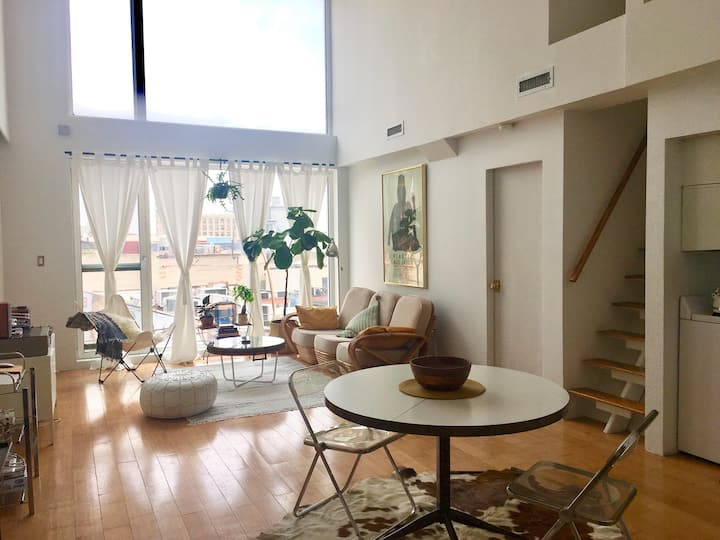 Beautiful Loft in Greenpoint Lots of Natural Light