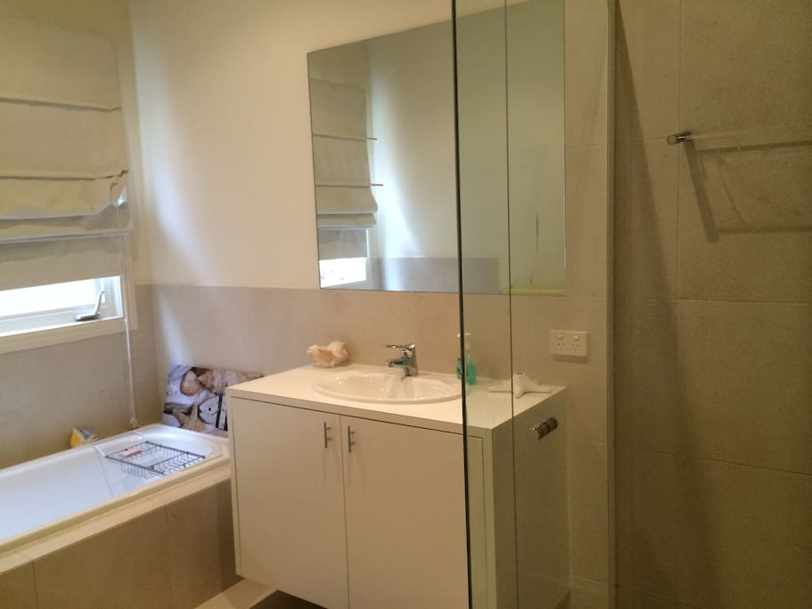Private Bathroom with separate Shower and Bath