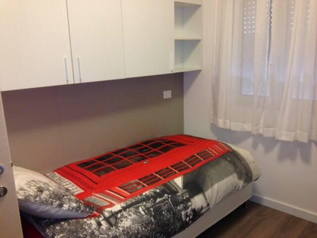 camera singola con bagno, frigorbar - Bèrgam - Casa