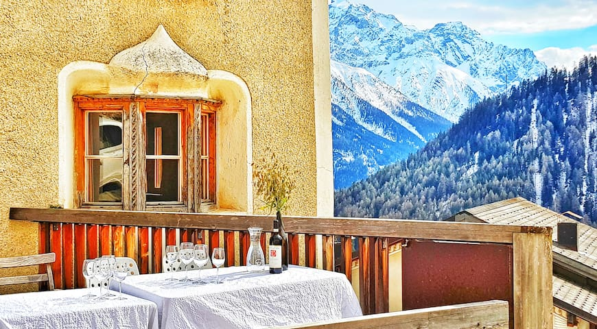 Chasa Staila - 400 years old Alpine Retreat