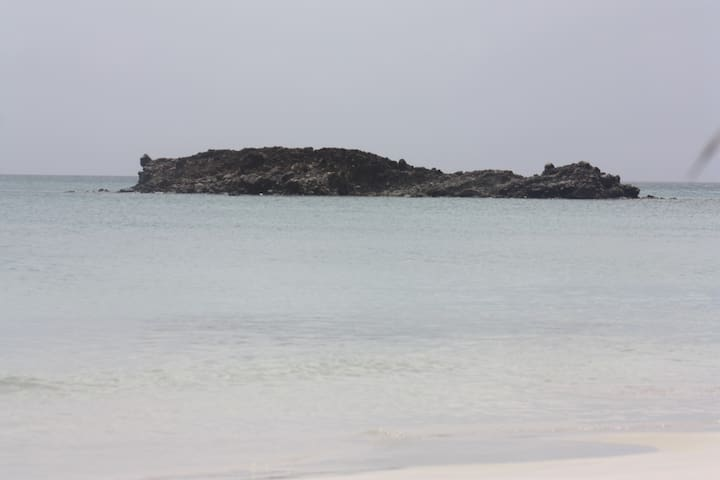 small cay on Suth West Bay
