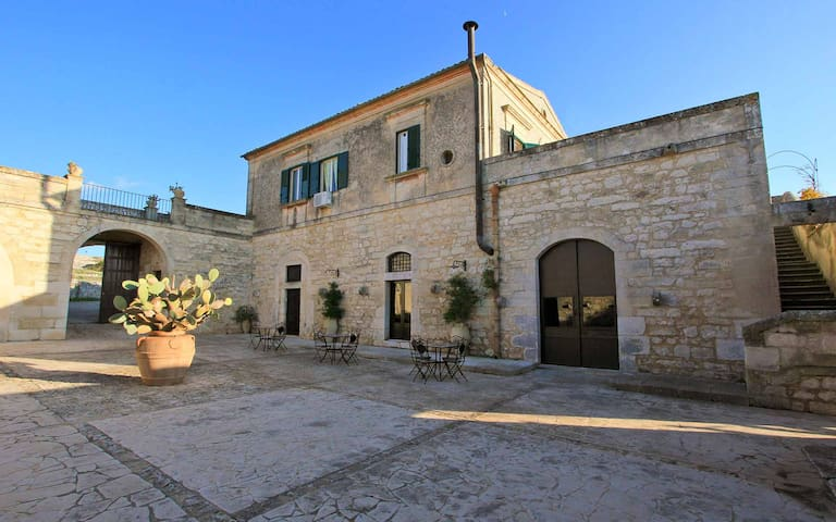 Villa Càrcara, The Baron Apartment - Ragusa - Villa