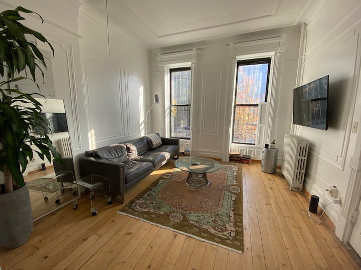 One Bedroom in Historic Brooklyn Brownstone