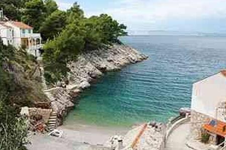 Lovely, tranquil bay of Hvar, white - Pobij - Apartament