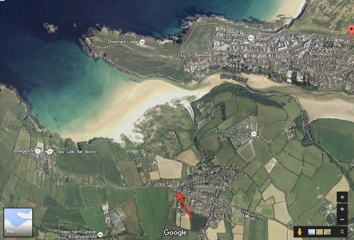 Large house & garden - Just a 5 min walk to beach! - Cornwall
