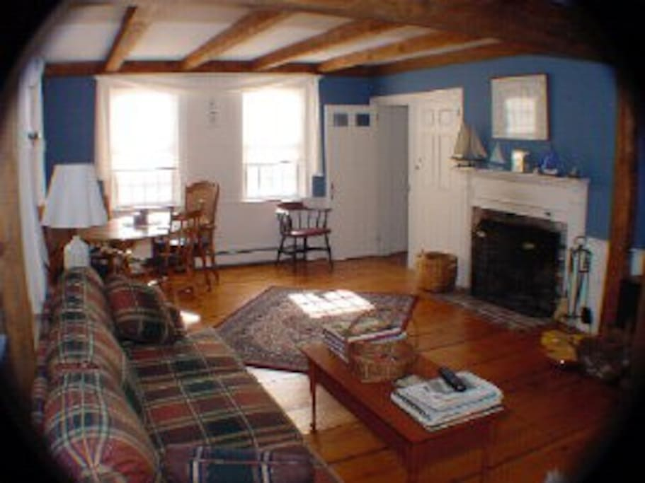 Relax in the wonderful Cape Cod living room, ideal for just doing nothing much!