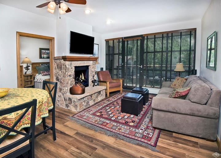Cozy mountain condo with shuttle to Beaver Creek