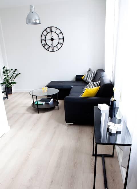 Cosy duplex flat with garden Dieppe