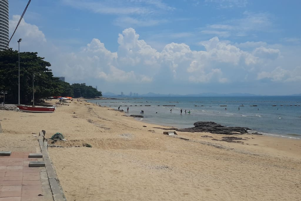 One of our local beaches within walking distance