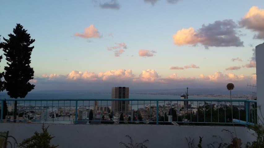 Next to Baha'i Gardens/ sea view - SPECIAL OFFER !