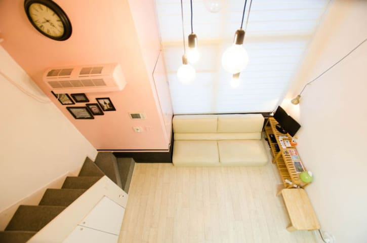 [Sale]NEW Dongdaemun loft studio Subway中心!東大門复式公寓 - Seoul - Appartement