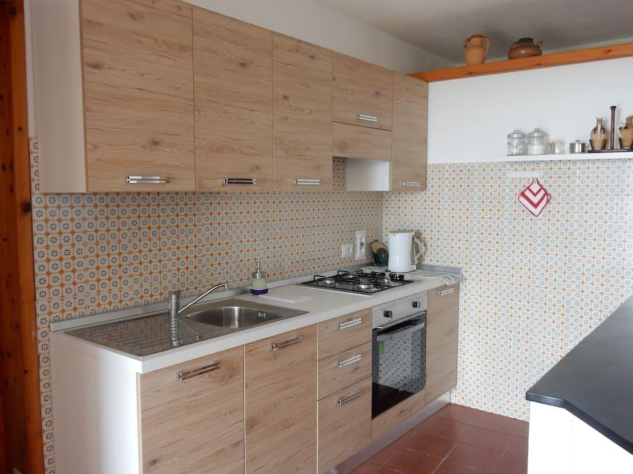 cucina appartamento grande